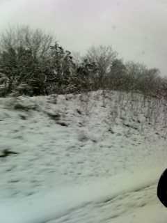 雪の山陽道