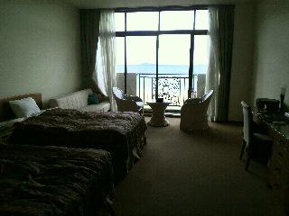 海の見えるリゾートホテル